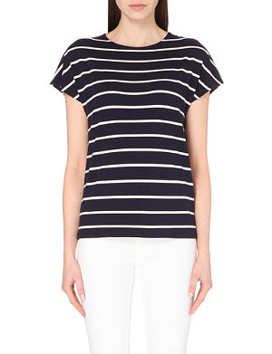 TED BAKER Striped jersey t-shirt
