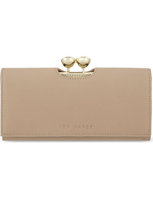 TED BAKER Crystal leather matinee purse