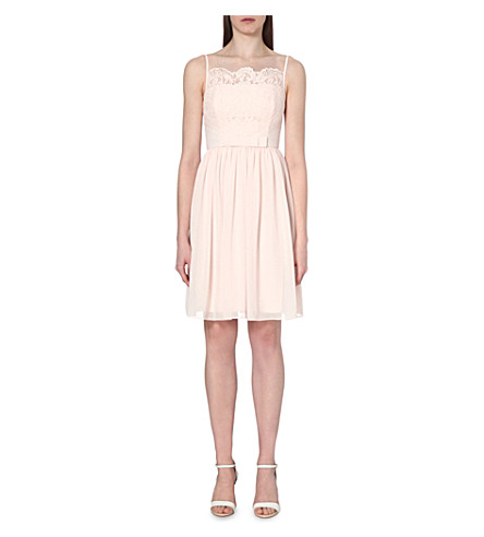 TED BAKER Mimee lace-detail dress (Baby+pink
