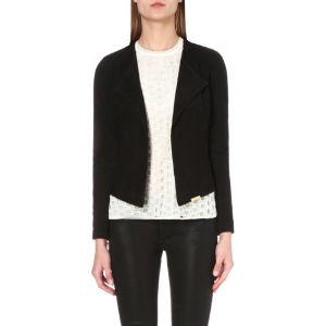 Formie zip-detail waterfall jacket