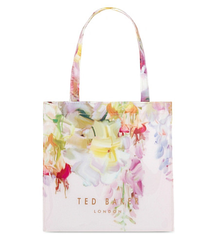 TED BAKER Lilicon Hanging Gardens small shopper (Baby pink