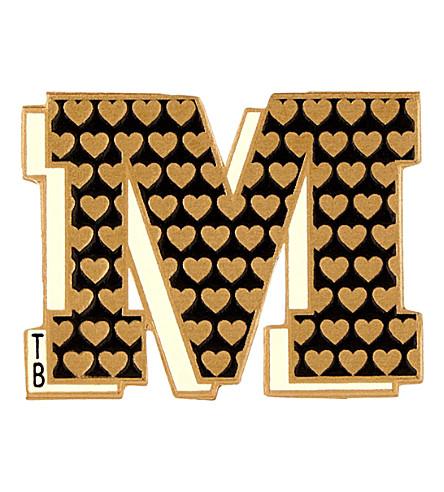 TED BAKER Stuck on you letter m sticker (Black