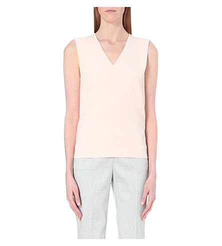 TED BAKER Dexi crepe top (Baby+pink