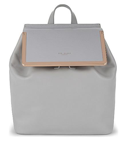 ted baker lyliana leather backpack. Black Bedroom Furniture Sets. Home Design Ideas