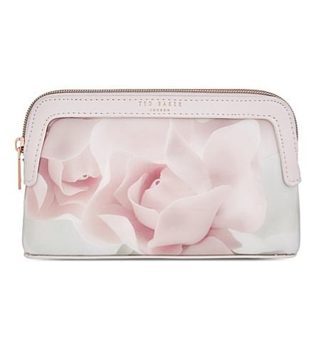 TED BAKER Amallia porcelian rose make-up bag (Nude pink