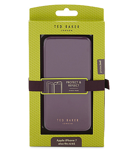 TED BAKER Mirrored iPhone 6/6S case (Deep+purple