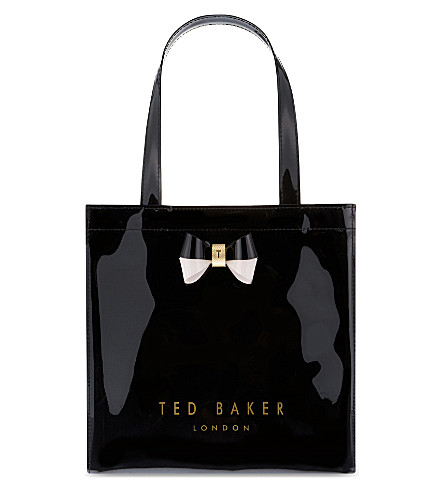TED BAKER Minacon Icon small shopper (Black