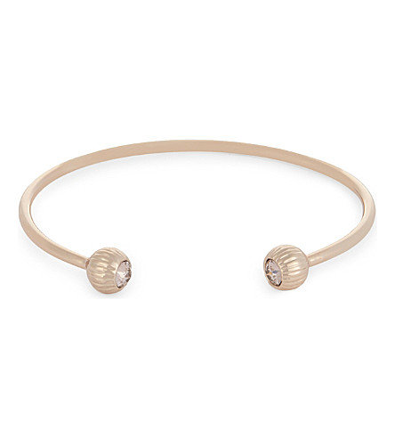 TED BAKER Adelia crystal ball cuff (Light+pink