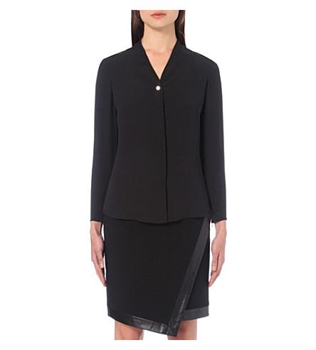 TED BAKER V-neck chiffon blouse