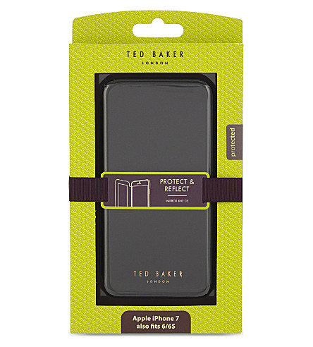 TED BAKER Shannon mirrored iPhone 7 case (Black