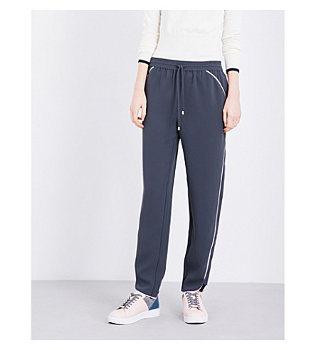 TED BAKER Shoula woven jogger trousers (Mid+grey