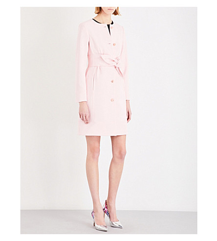 61913d302 TED BAKER Ceally crepe coat (Baby+pink