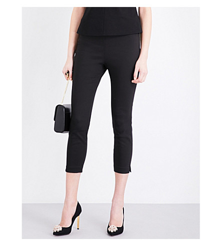 TED BAKER Baylea cotton-blend pants (Black