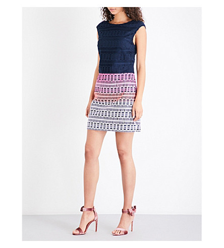 TED BAKER Dahil lace dress (Navy