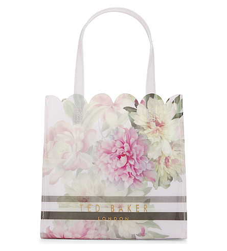 TED BAKER Amalcon Painted Posie tote (Baby+pink