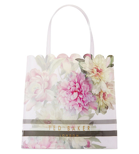 TED BAKER Mylacon Painted Posie tote (Baby+pink