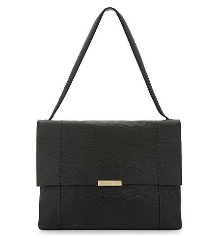 TED BAKER Proter leather shoulder bag (Black