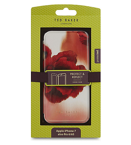 TED BAKER Carleto iPhone 6/6S/7 箱 (中 + 红