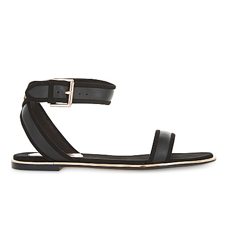 TED BAKER Alella leather flat sandals