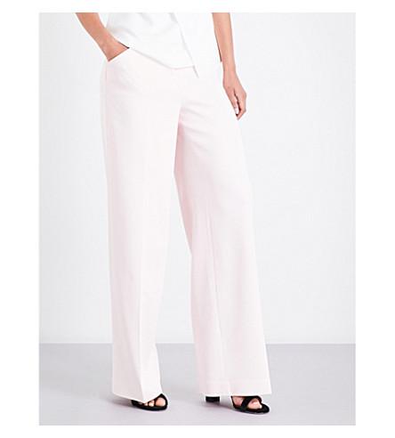 TED BAKER Danilat wide-leg trousers (Nude+pink