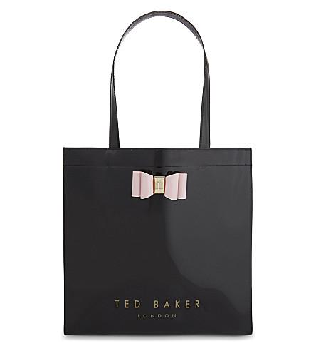 TED BAKER Logo tote (Black