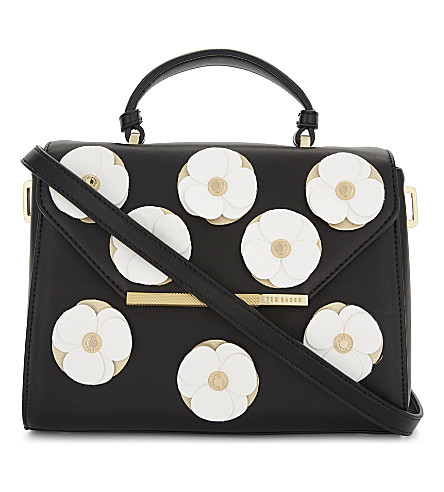 TED BAKER DAISII envelope tote bag (Black