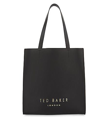 TED BAKER 莎真皮购物袋 (黑色