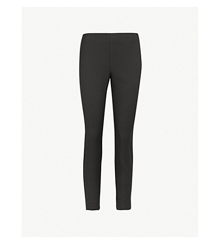 TED BAKER Rayalt high-rise skinny trousers (Black