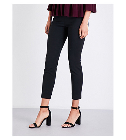 TED BAKER Rayalt high-rise skinny trousers (Black