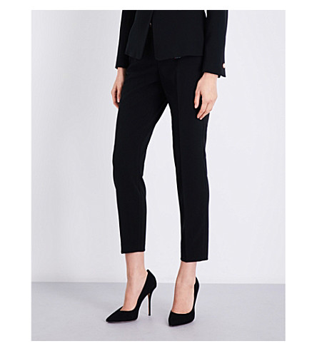 TED BAKER Ottoman tailored trousers (Black