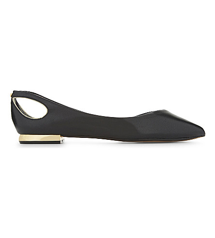 TED BAKER Dabih suede pumps (Black