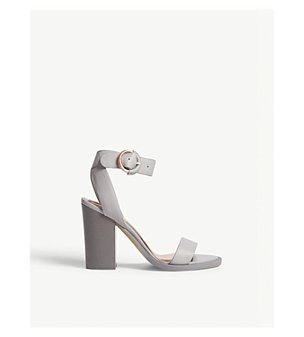 TED BAKER Betciy buckle sandals (Grey