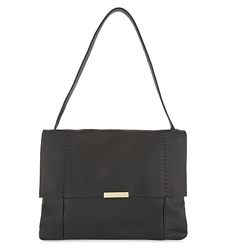 TED BAKER Proter leather shoulder bag (Black