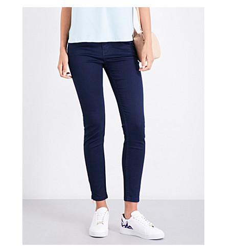 TED BAKER Dariaas skinny mid-rise jeans (Navy