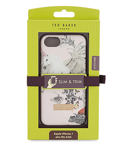 TED BAKER Enchanted Dream iPhone case (Pale+pink