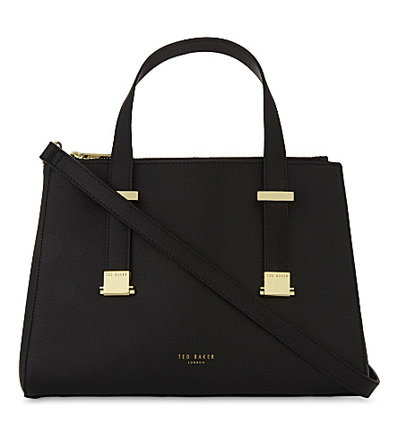TED BAKER Ameliee leather tote (Black