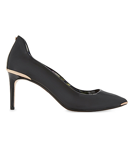 TED BAKER Vyixin pointed courts (Black