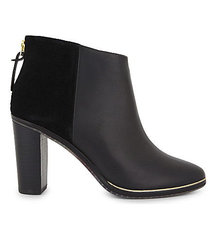 TED BAKER Azaila leather ankle boots (Black