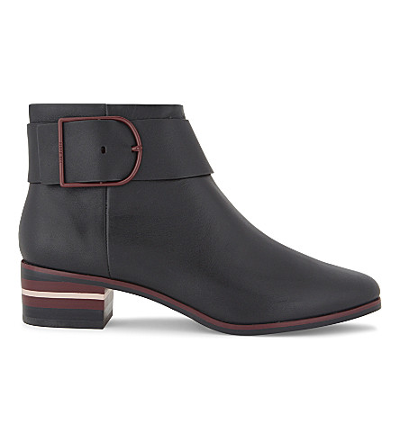 TED BAKER Robyin buckle detail leather Chelsea boots (Black