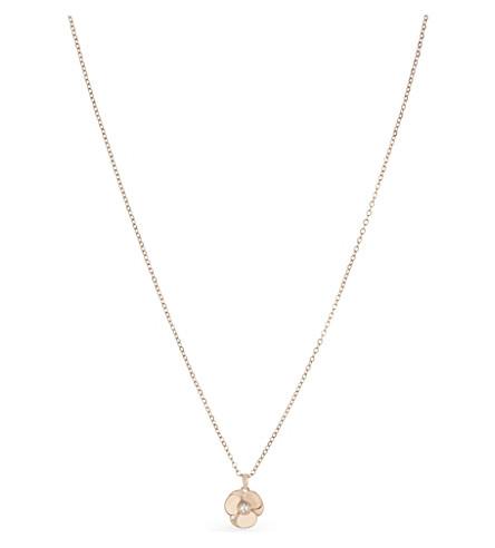 TED BAKER Primroz flower pendant (Rosegold+col