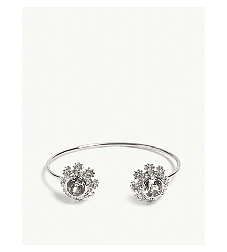 TED BAKER Seniie crystal daisy lace cuff (Crystal