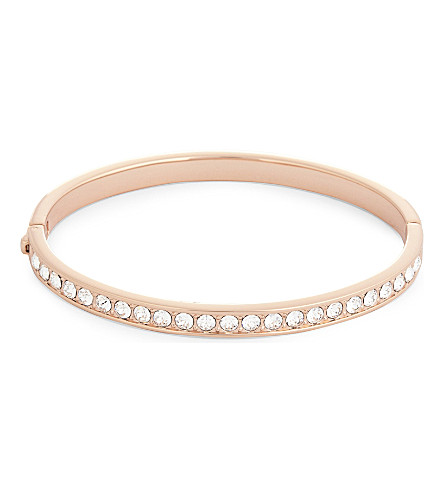 TED BAKER Clemara crystal bangle (Clear
