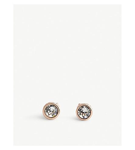 TED BAKER Sinaa opal stud earrings (Clear
