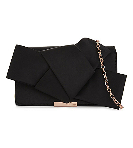 TED BAKER Knotted cross-body bag (Black