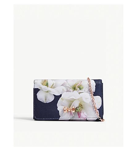 TED BAKER Gardenia cross-body bag (Dark+blue