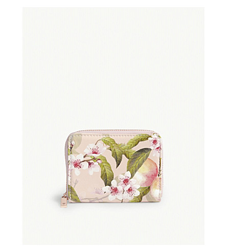 TED BAKER Ivy peach blossom purse (Light+pink