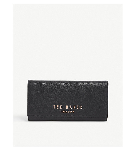 TED BAKER Lura matinee leather wallet (Black
