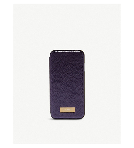TED BAKER Cedar protect & reflect iPhone 7 case (Dark+blue