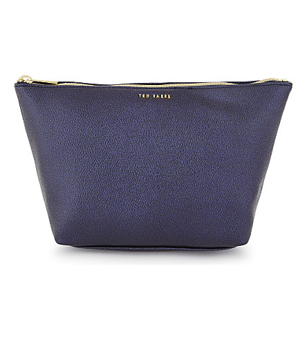 TED BAKER Kriss wash bag (Dark+blue