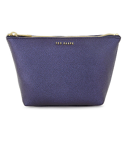 TED BAKER Lana make-up bag (Dark+blue